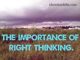 right thinking