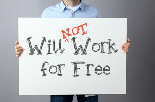 Will (not) Work For Free!