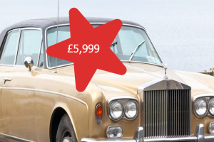 Rolls Royce (Robin Reliant price)